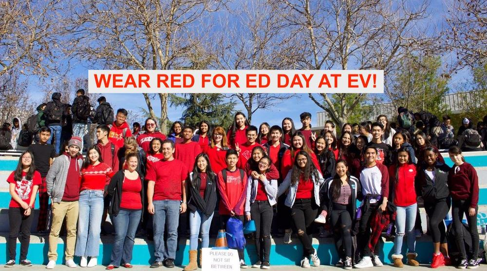 Wear Red for Ed