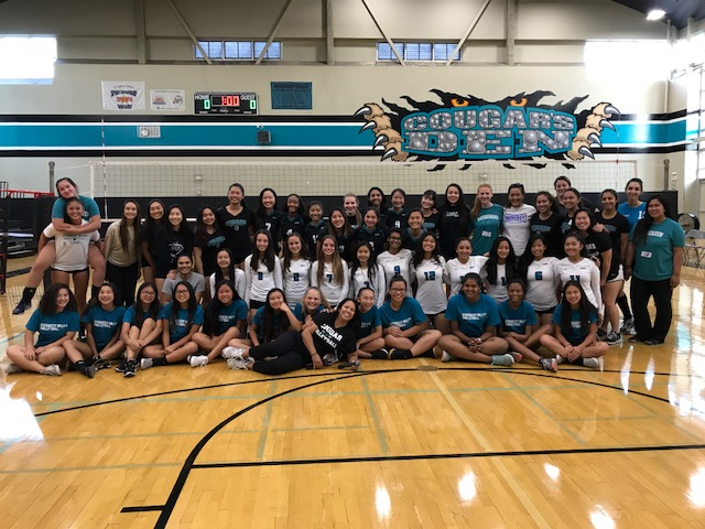 Volleyball Alumni Game 2017